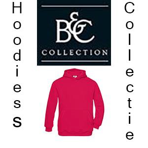 B&C Hoodies collectie Vóór maandag besteld, worden woensdag geleverd