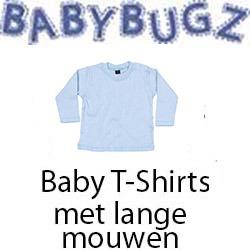 Baby T-Shirts Lange Mouwen Vóór maandag besteld, worden woensdag geleverd
