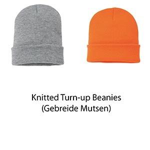 Nutshell Knitted Turn-up Beanie. Unisex. Vóór maandag besteld, worden woensdag geleverd