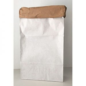 Papieren opbergzak blanco