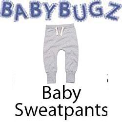 Baby Sweatpants Vóór maandag besteld, worden woensdag geleverd