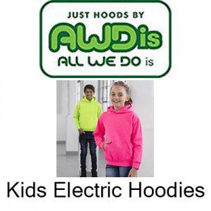 Kids Electric Hoodies Vóór maandag besteld, worden woensdag geleverd