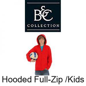 B421B Hooded full-zip /kids Vóór maandag besteld, worden woensdag geleverd