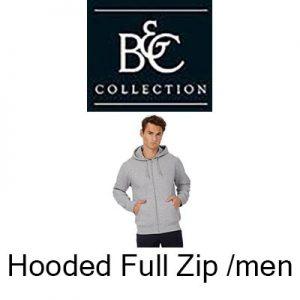 BA421 Hooded full zip /men Vóór maandag besteld, worden woensdag geleverd