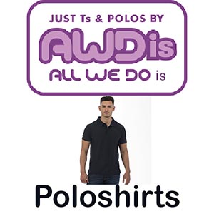 JP020 Poloshirts Vóór maandag besteld, worden woensdag geleverd