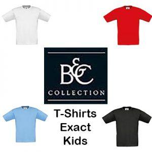 B150B T-Shirts Kids met korte mouwen Exact. Vóór maandag besteld, worden woensdag geleverd