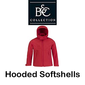B630B Hooded Softshells Kids Vóór maandag besteld, worden woensdag geleverd