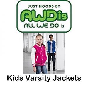 JH43J Kids Varsity Jackets