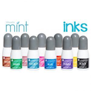 Inkt voor de Silhouette Mint