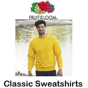 SS200 Classic 80/20 Sweatshirts Vóór maandag besteld, worden woensdag geleverd