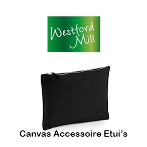 WM530 Canvas Accessoire Etui's Vóór maandag besteld, worden woensdag geleverd